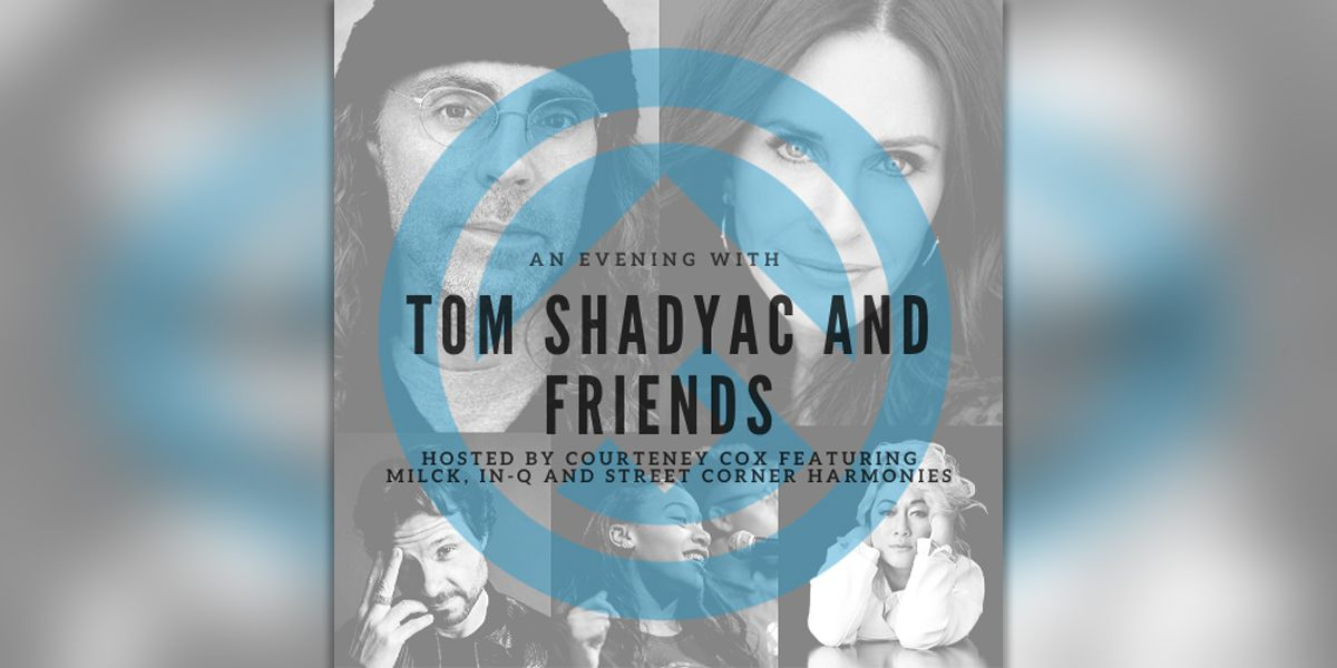 'Friends' actress Courteney Cox joining Tom Shadyac at Memphis Rox fundraiser