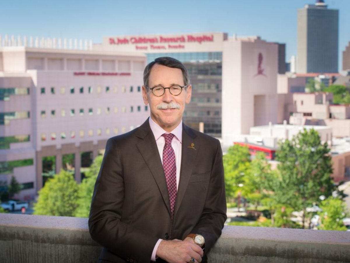 St. Jude President, CEO wins Pediatric Oncology Award