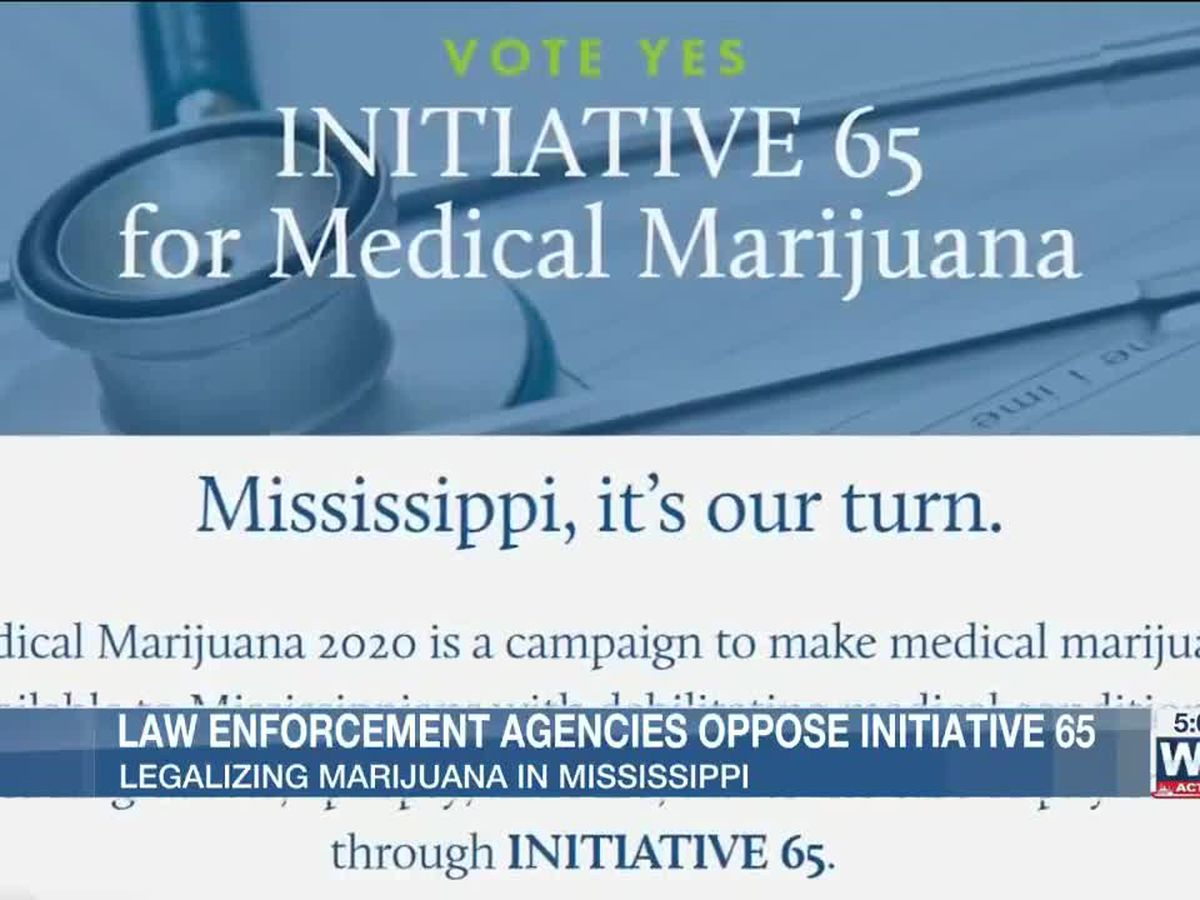 Oxford and Lafayette County law enforcement officials urge residents to vote NO on initiative 65: medical marijuana