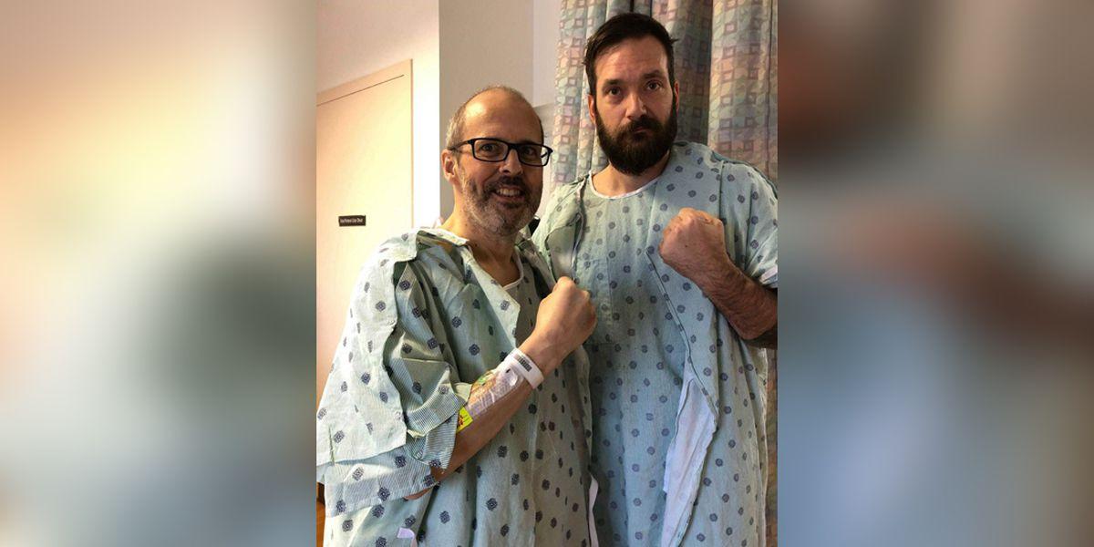 'Superhero' surgery a success; Mid-South man donates liver to stranger
