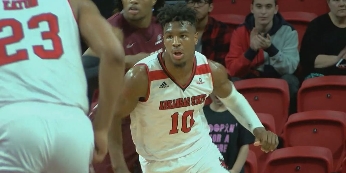 Arkansas State men complete season sweep with Saturday victory