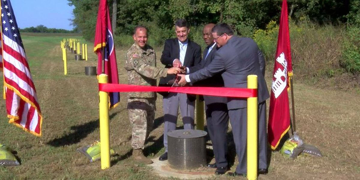 President's Island receives additional flood protection for industrial park