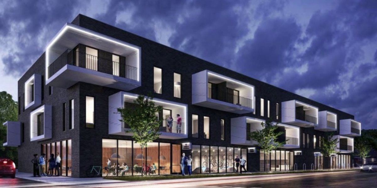 New apartment building could be coming to Cooper-Young; neighbors call design 'hideous'