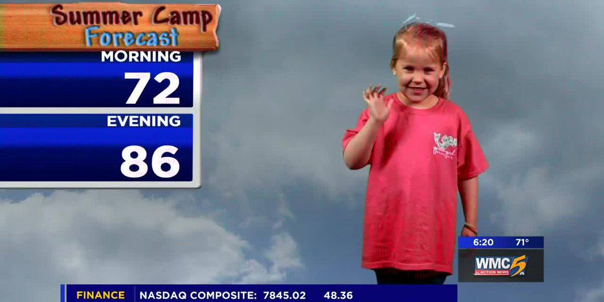 June 18, 2019 summer camp forecast