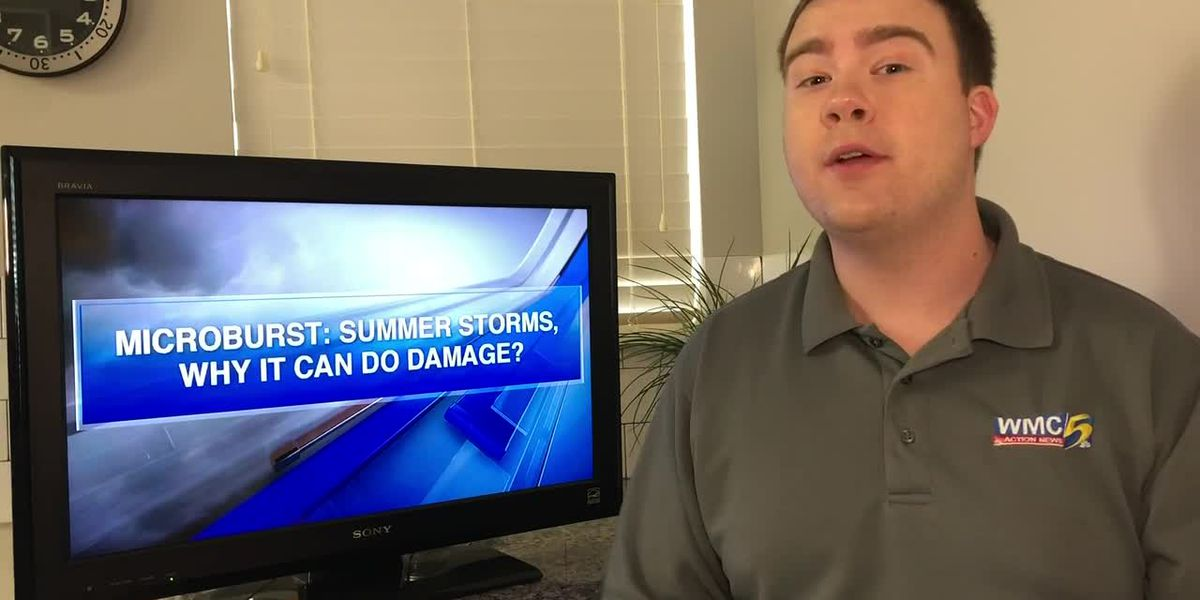 Breakdown: Microburst: Summer storms, Why it can do damage?