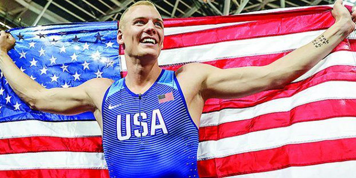 Oxford native named top male track and field athlete