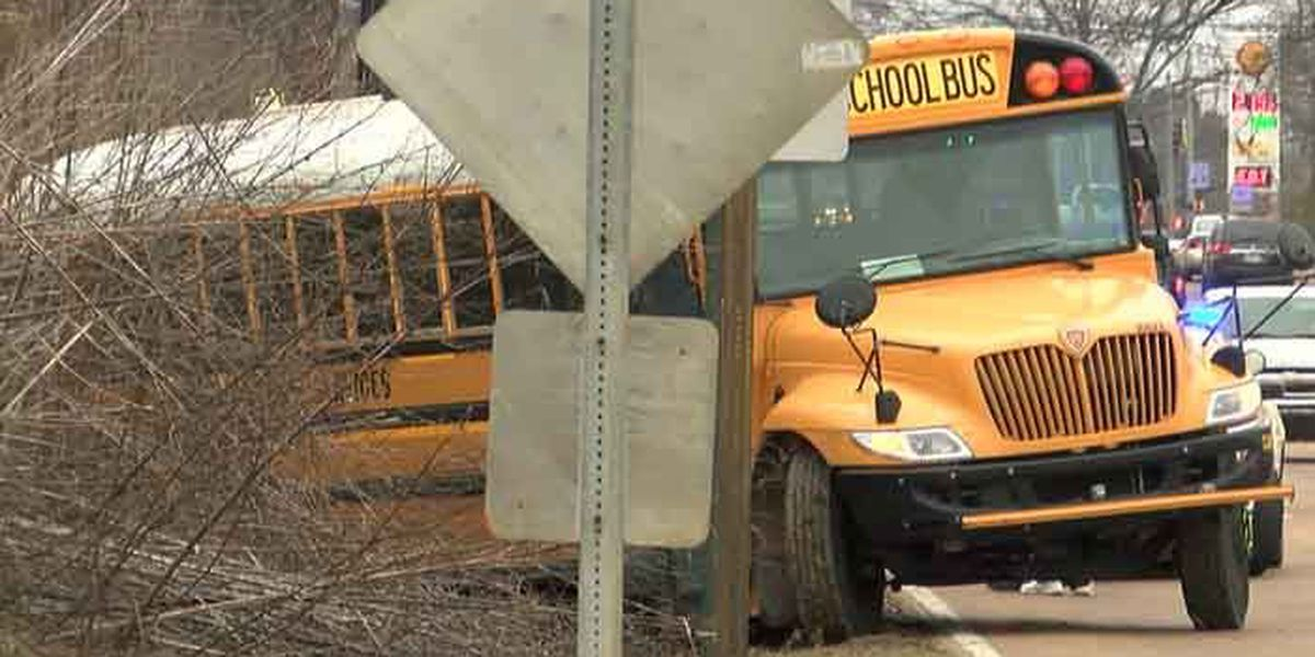 Durham school bus involved in accident on Summer Ave.