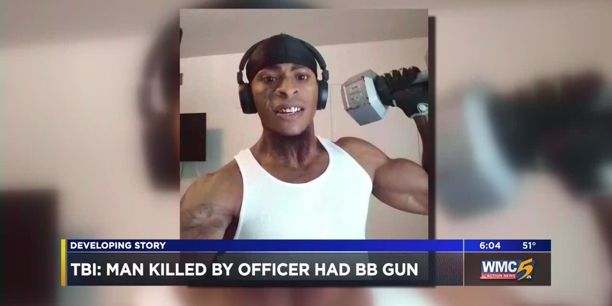 TBI: Man killed by officer had bb gun