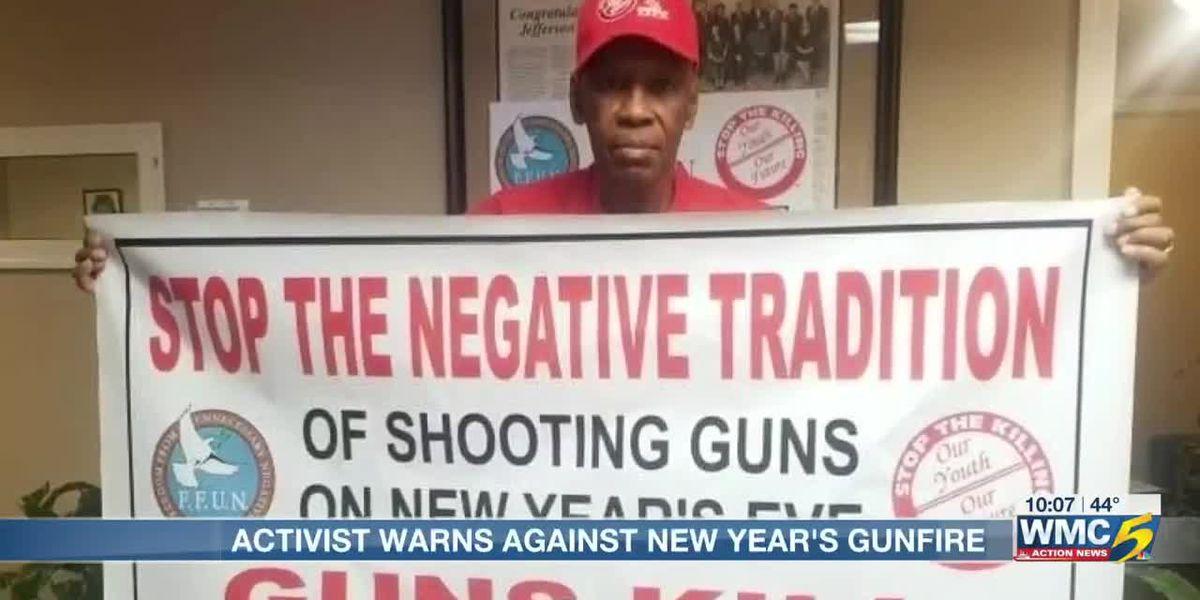Memphis anti-violence activist discourages celebratory gunfire on New Year's Eve