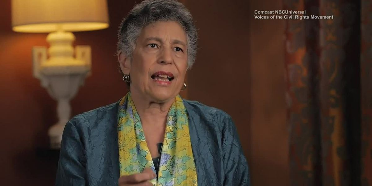 Carlotta Walls LaNier of the 'Little Rock Nine' talks about efforts to integrate schools in Arkansas in 1957