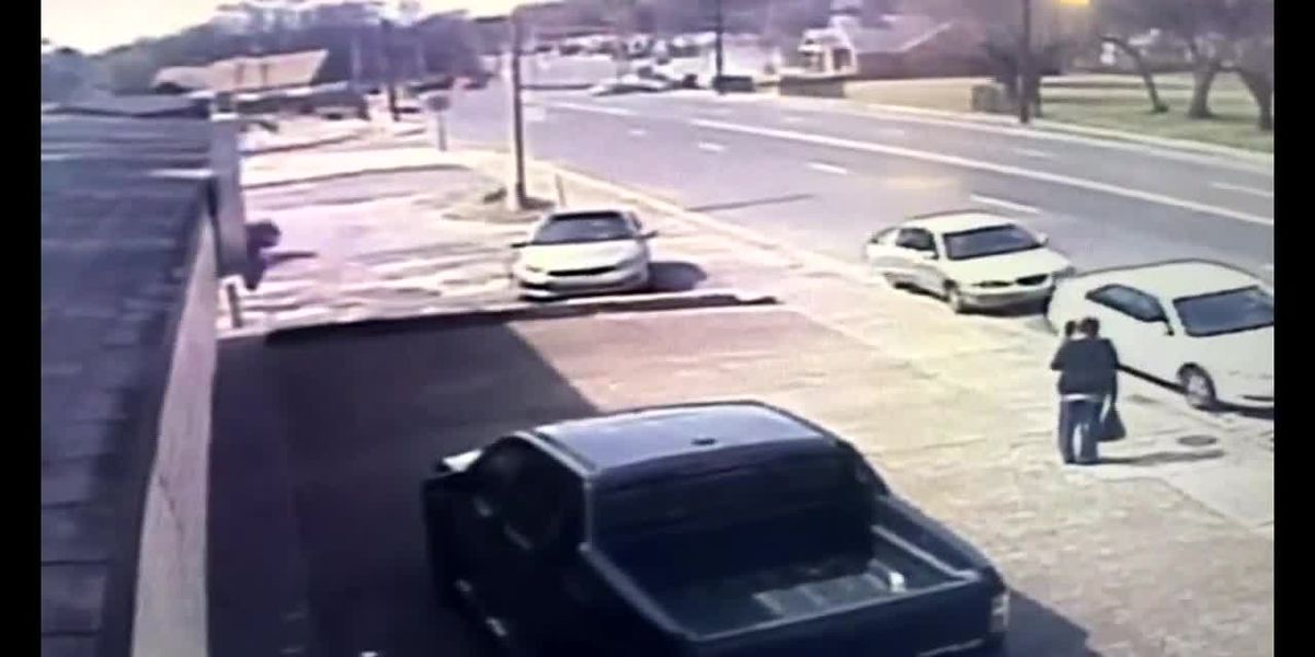 WATCH: Surveillance video shows deadly crash
