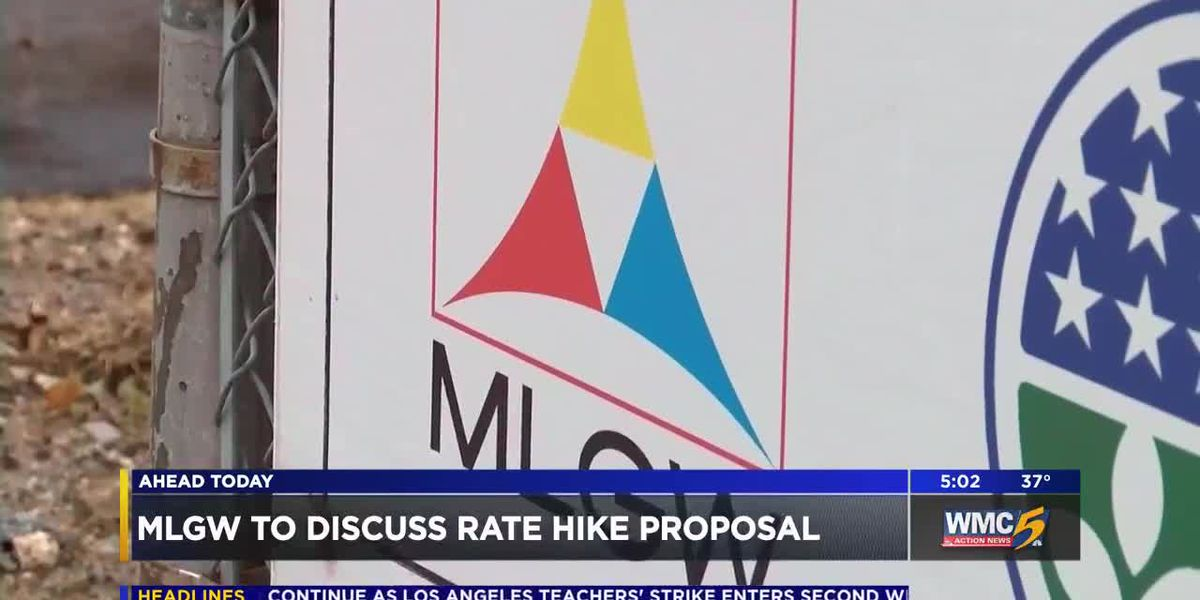 MLGW to propose updated rate increase