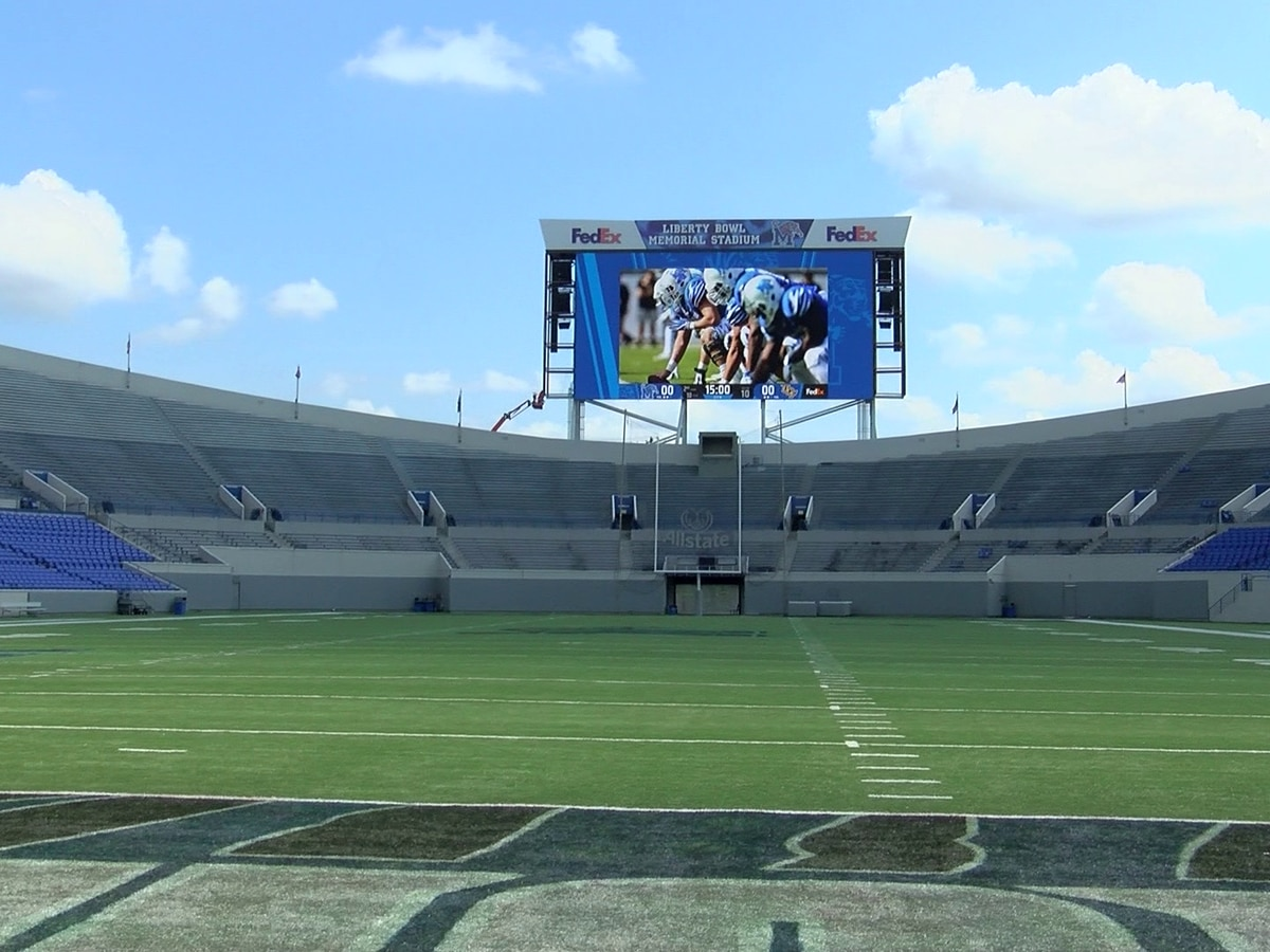 University of Memphis adapts football game day procedures for fans