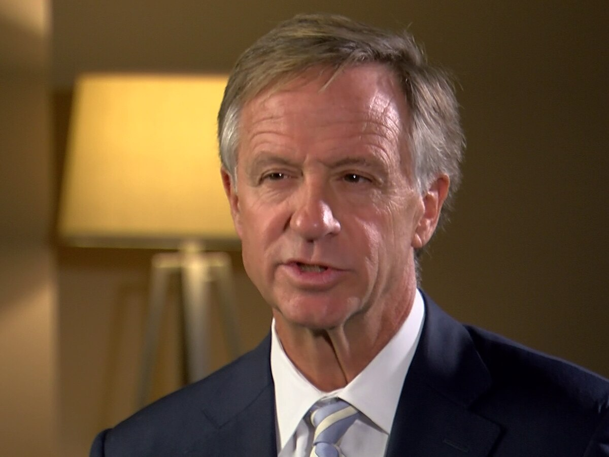 Governor Bill Haslam discusses his accomplishments, regrets