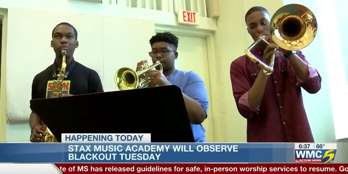 Stax Music Academy participating in Blackout Tuesday in recognition of George Floyd