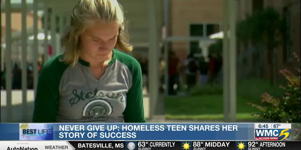 Best Life: Homeless teen shares her story of success