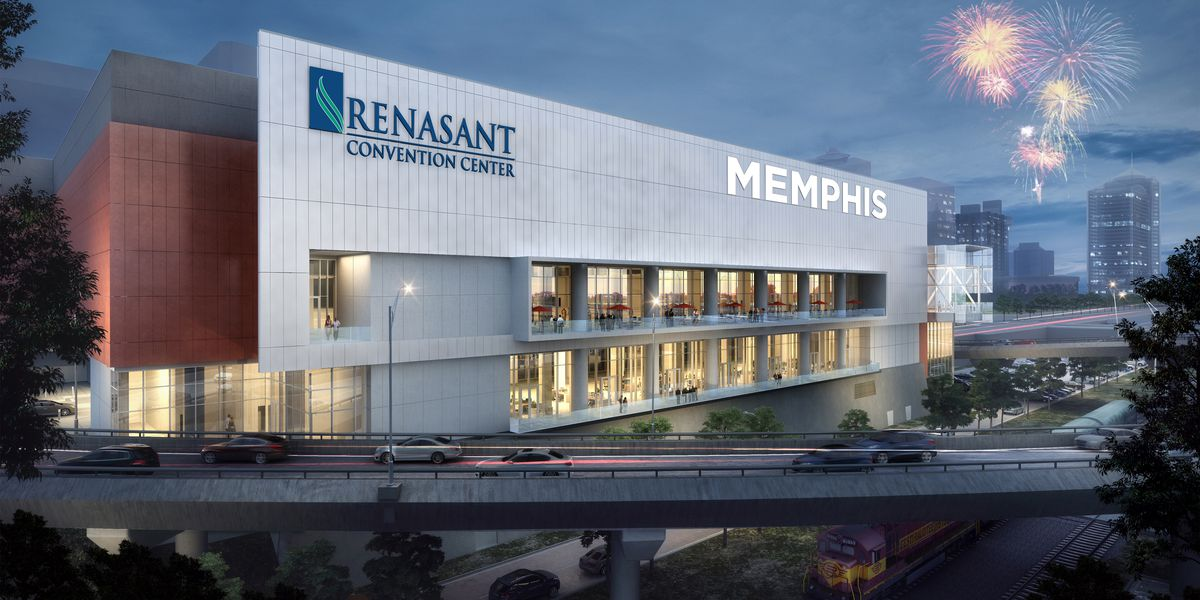 Memphis city leaders announce naming agreement with Renasant Bank for convention center