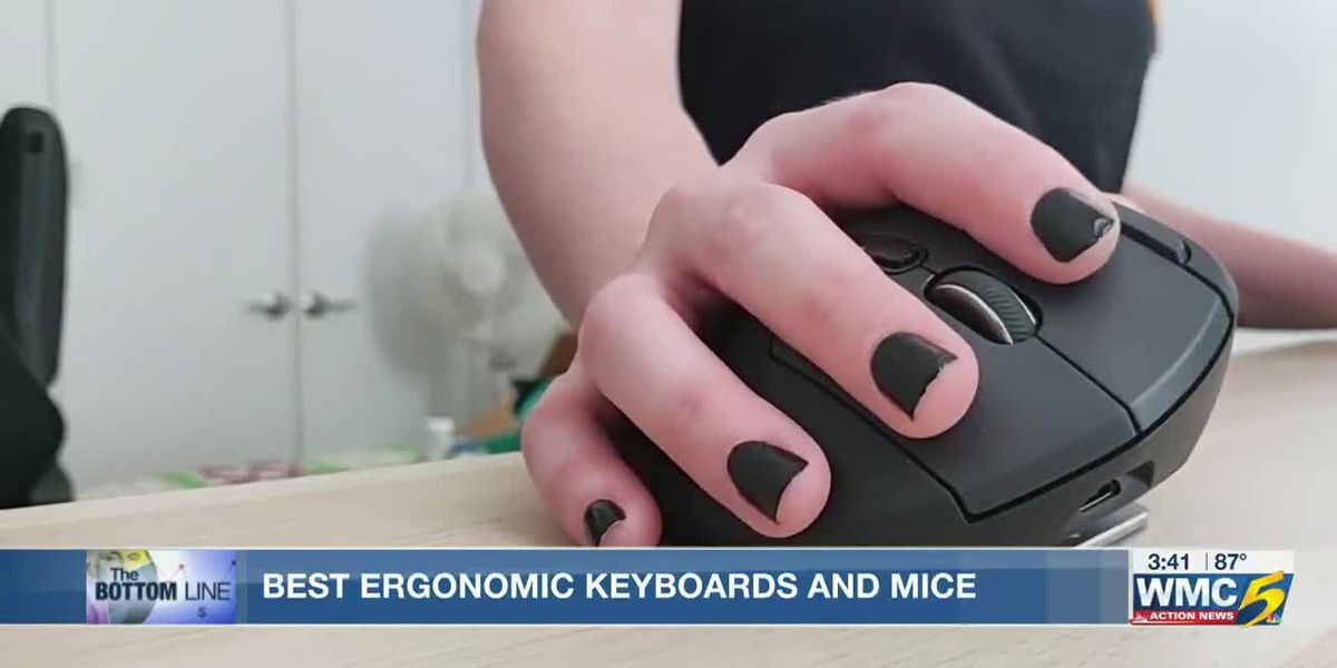Bottom Line: Keyboard and mice that fight fatigue