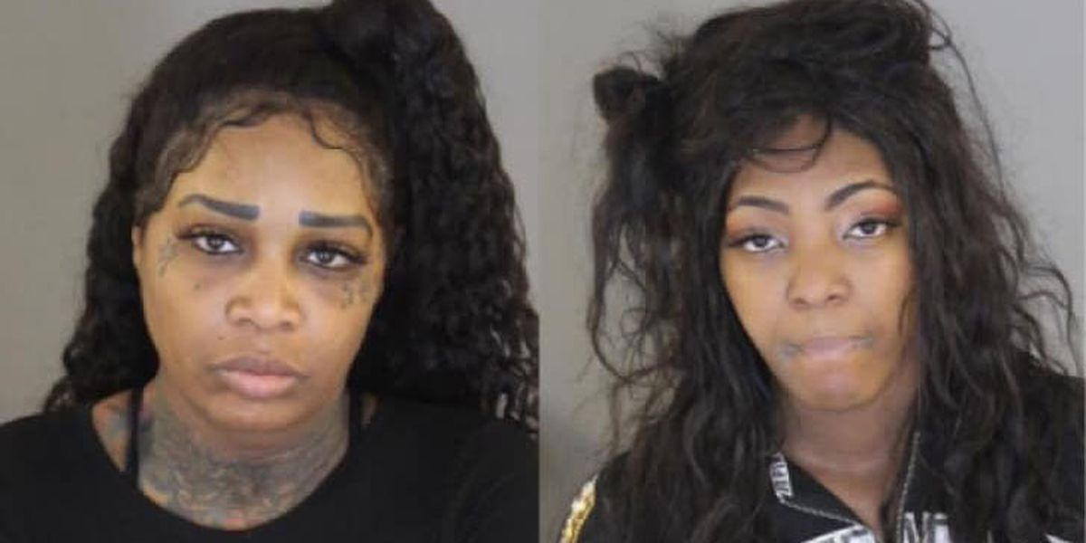 Women arrested after allegedly trying to steal from Target during police charity event