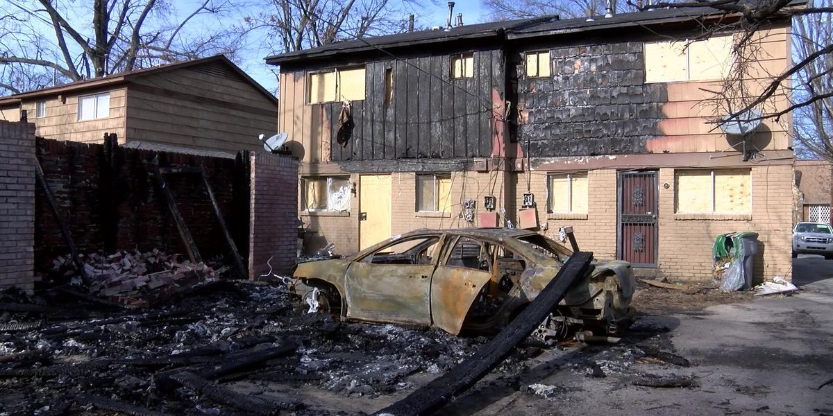 Mother working to rebuild after fire destroys home, possessions
