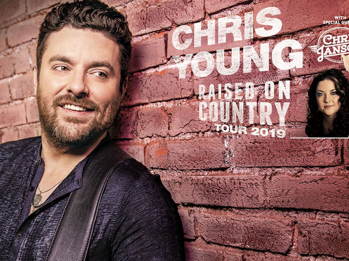 Enter to win a pair of tickets to Chris Young