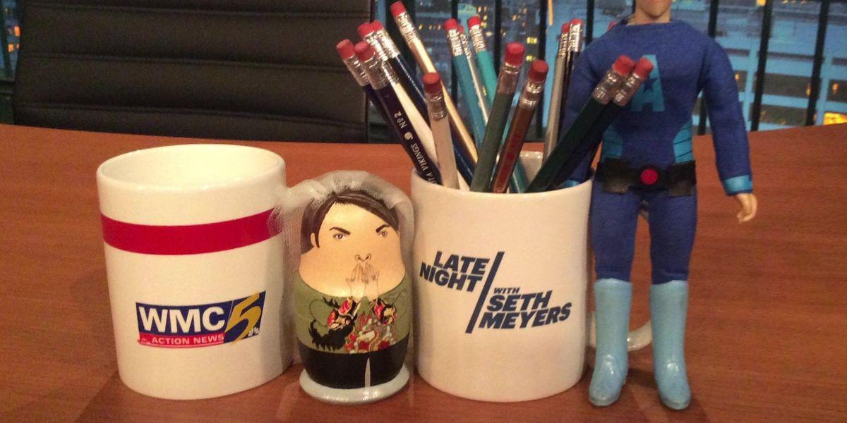 WMC coffee mug to appear on 'Late Night with Seth Meyers'