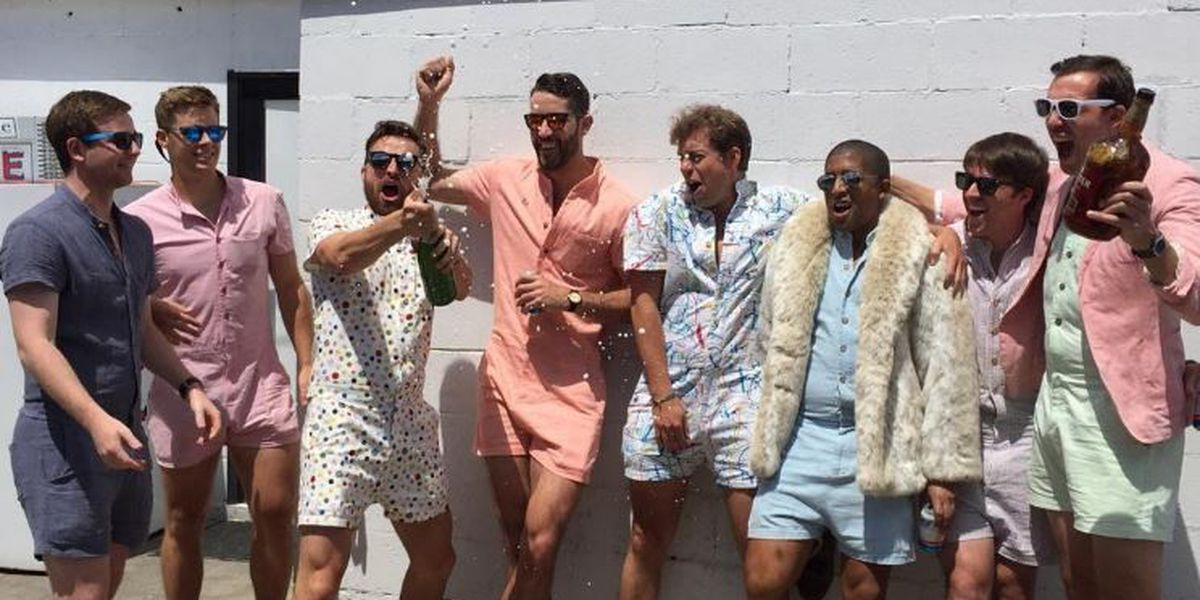 Male rompers could be the latest men's fashion trend