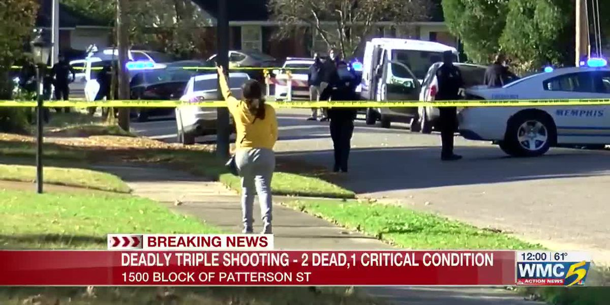 Police investigate deadly triple shooting in Memphis