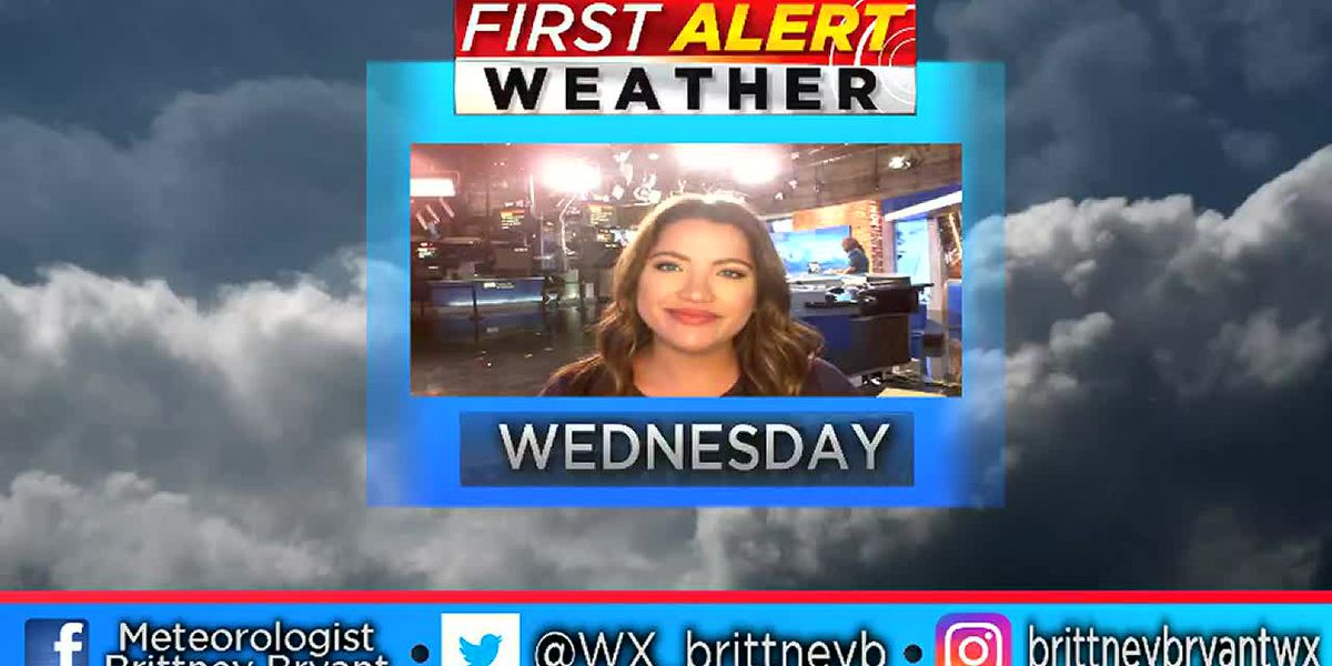 Brittney's Wed AM Weather