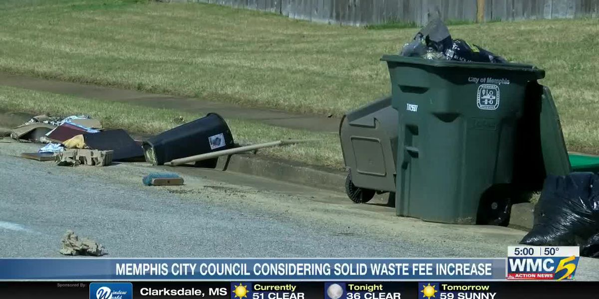 Memphis City Council considers hikes for trash pickup, MLGW rates