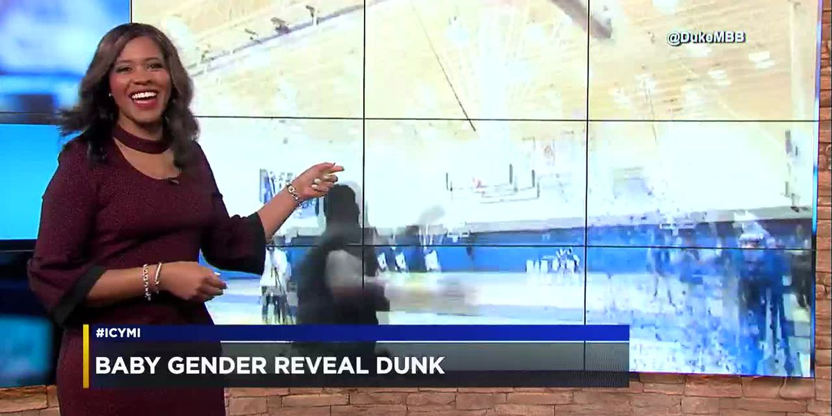 #ICYMI: 4-18-19: A slam dunk gender reveal, female astronauts set records, boat teeters from dam