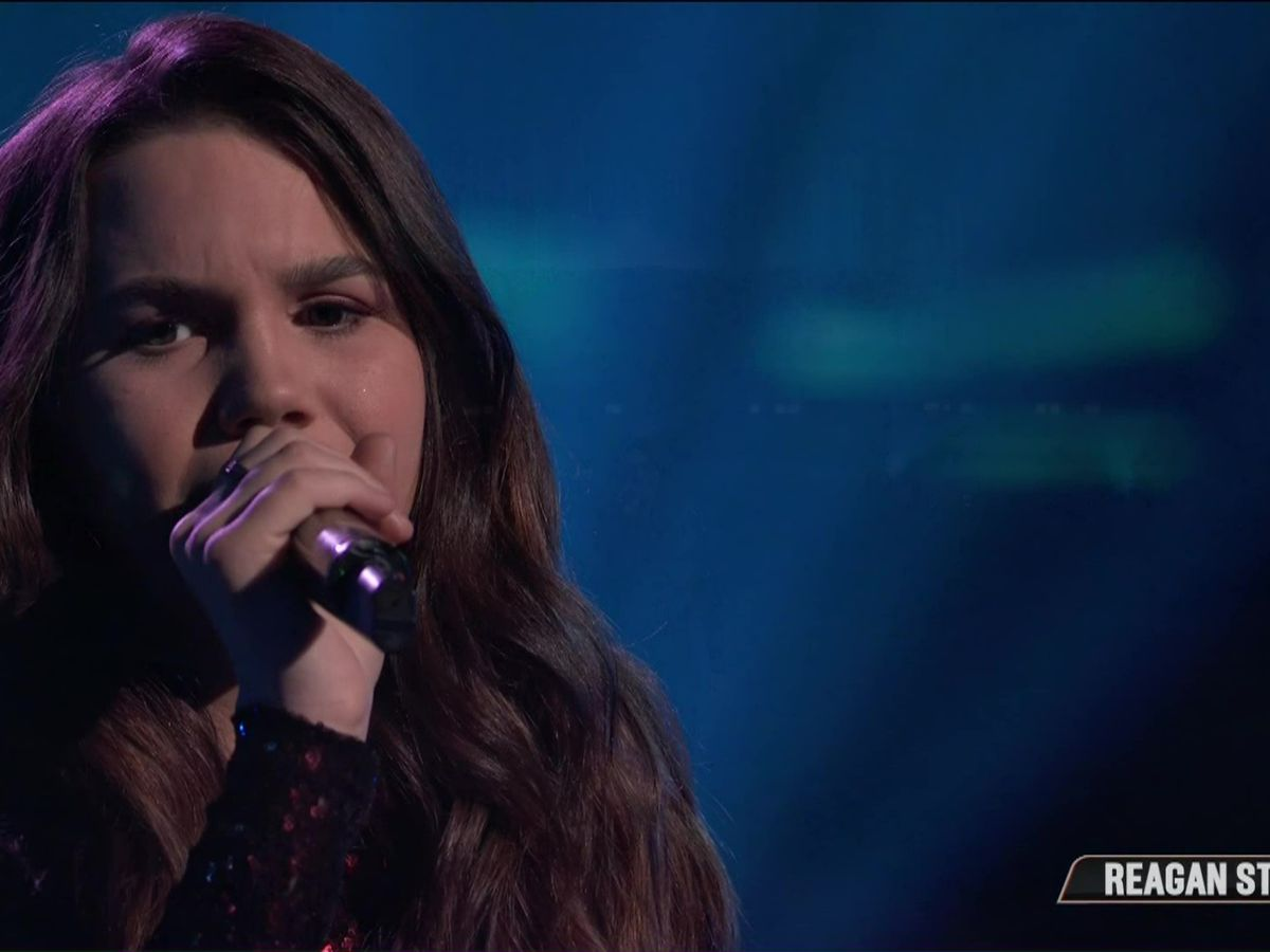 Reagan Strange competes for Top 8 spot on 'The Voice'
