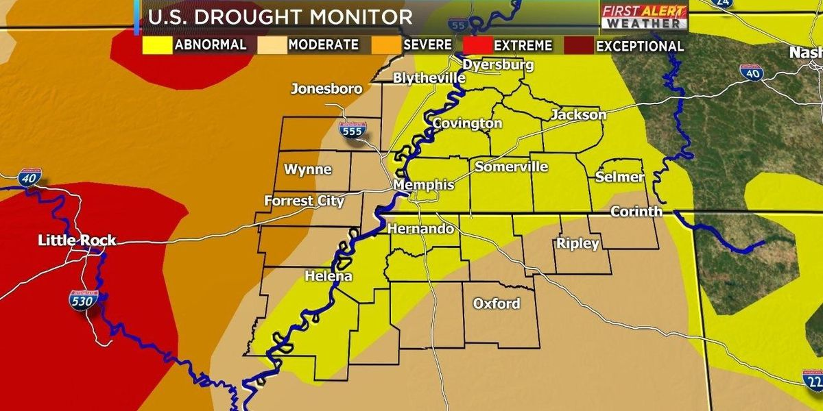 Much-needed rain moving into the Mid-South