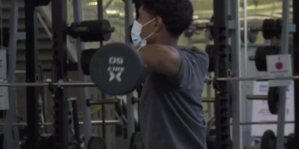 Latest health directive requires masks to be worn during workouts