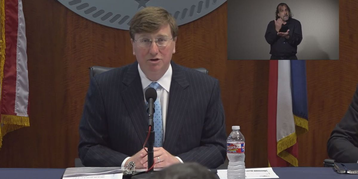 Tate Reeves to discuss state's COVID-19 strategy