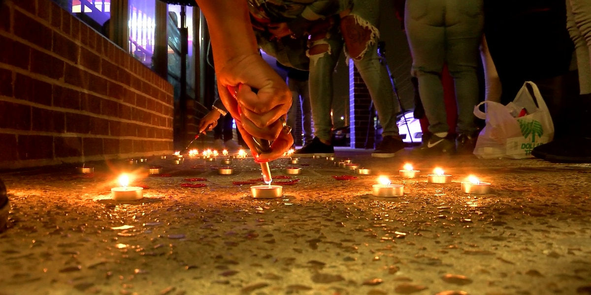Vigil held for man left outside emergency room