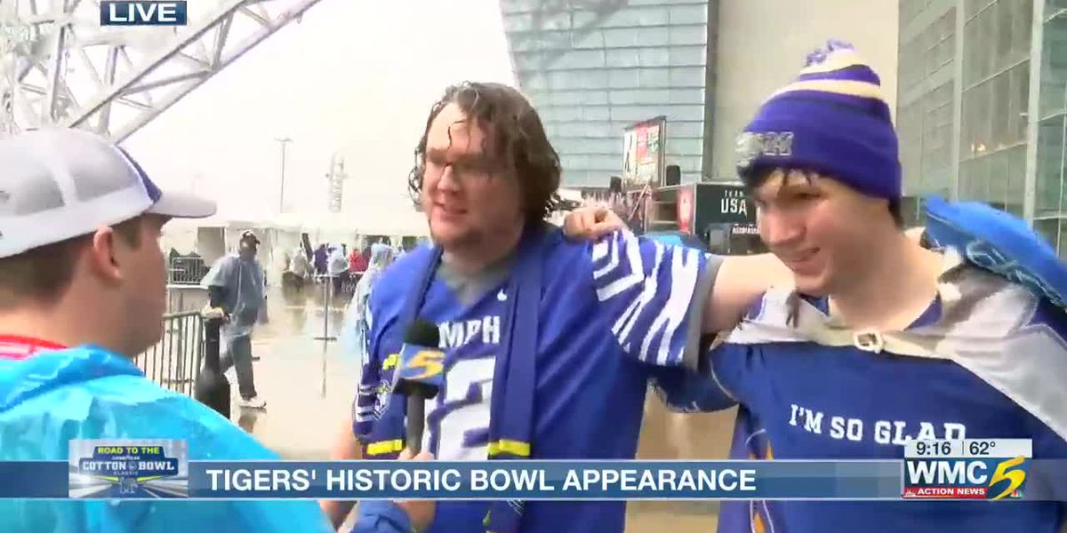 Road to the Cotton Bowl - Fans are hype for the game!