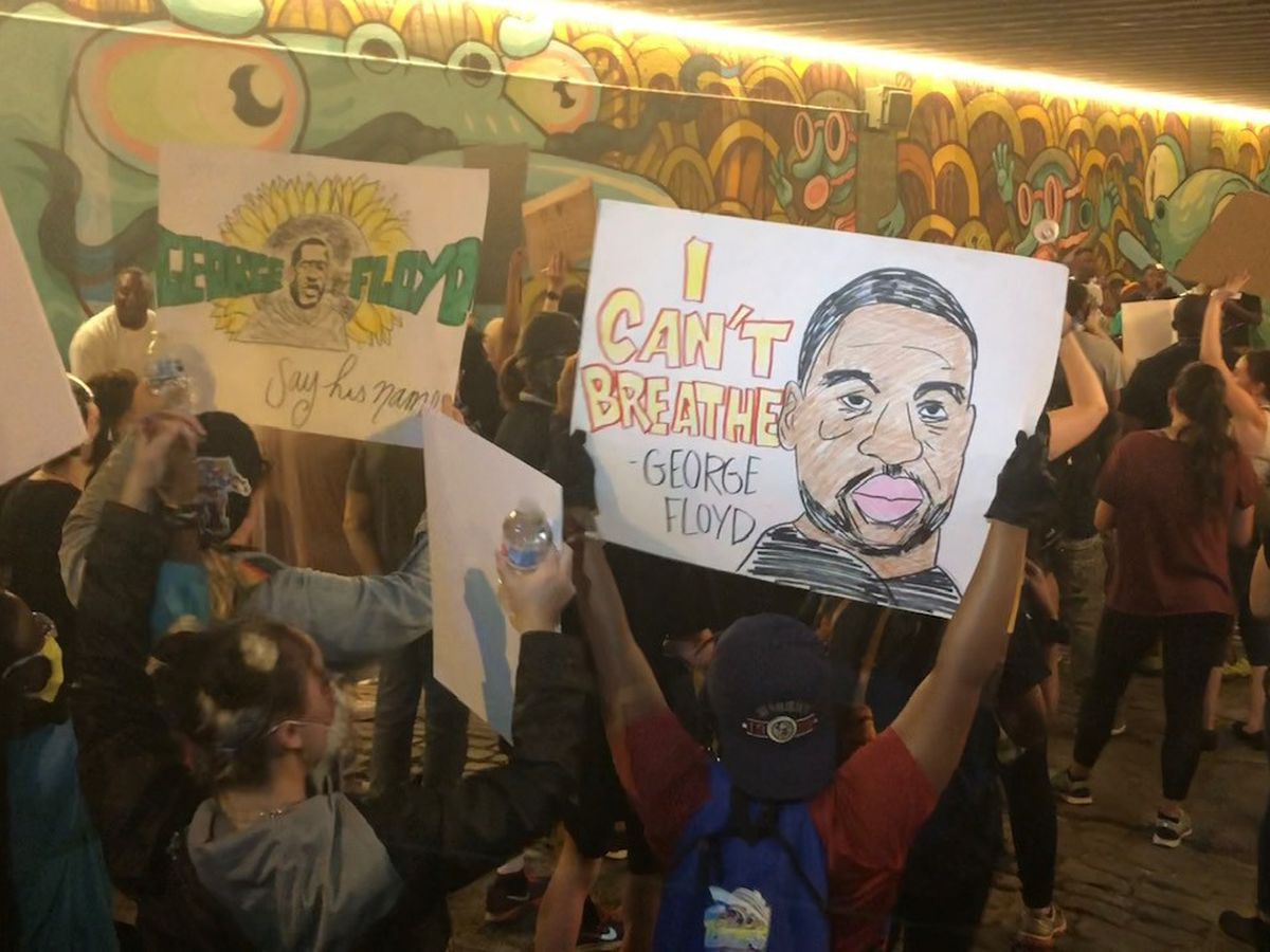 Demonstrators take to Memphis streets for 8th night of protesting