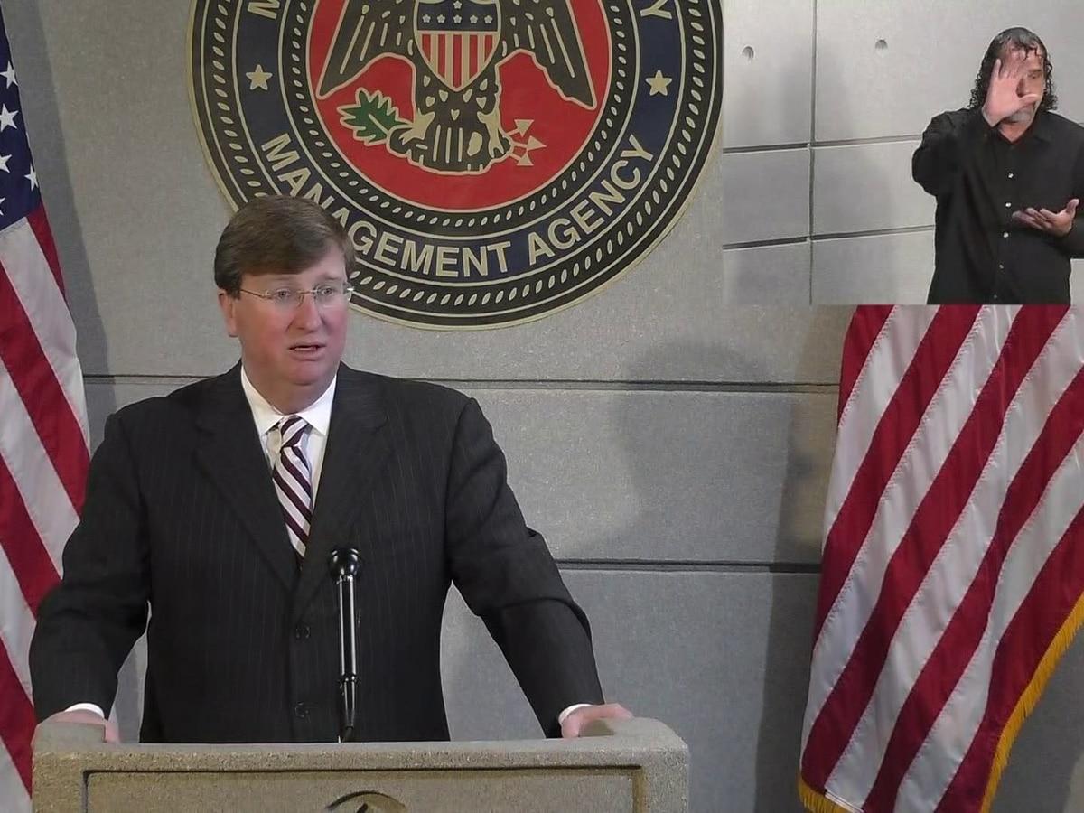 Gov. Tate Reeves signs emergency declaration ahead of Zeta