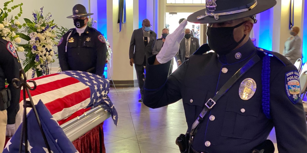 WATCH: Funeral for Lt. Boutte features full honors with 21-gun salute, end of watch call