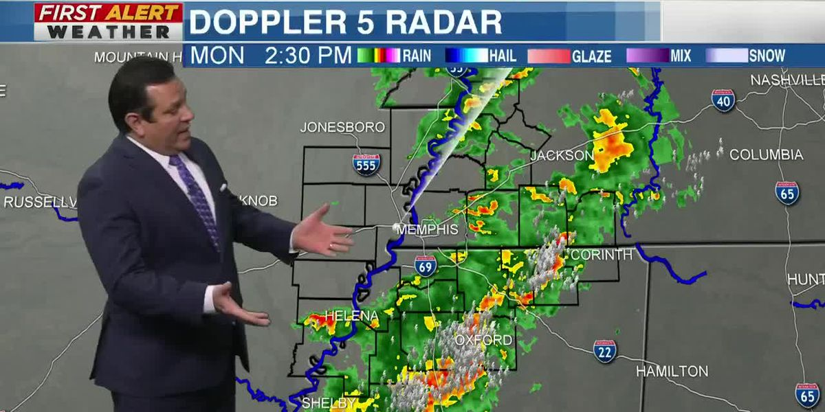 Police spot tornado in Oxford after NWS issues Tornado Warnings for parts of north Mississippi