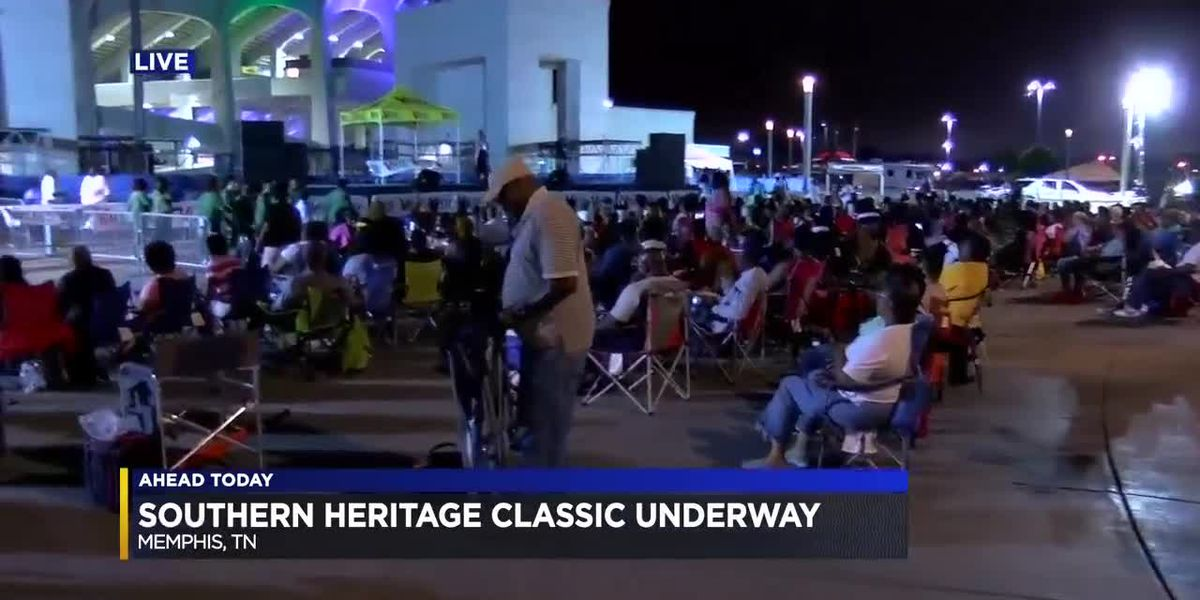 Fans kick off Southern Heritage Classic weekend