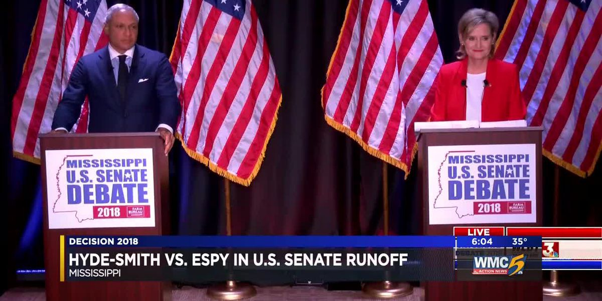 Hyde-Smith and Espy face off in historic race for U.S. Senate in Mississippi