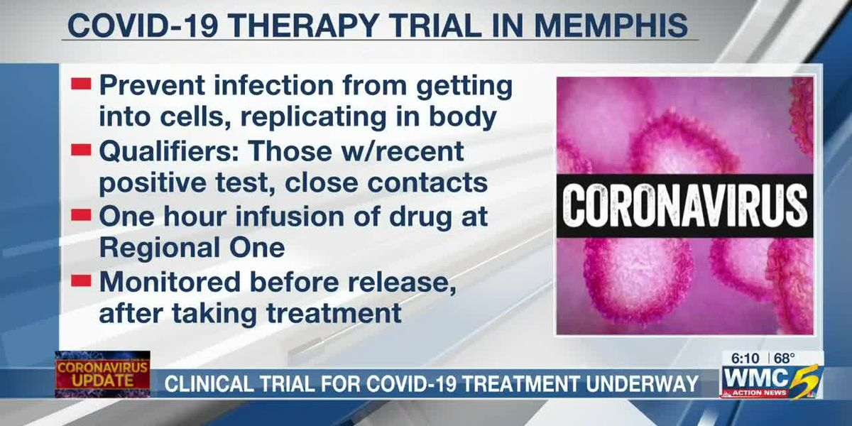 Clinical trial for COVID-19 treatment underway