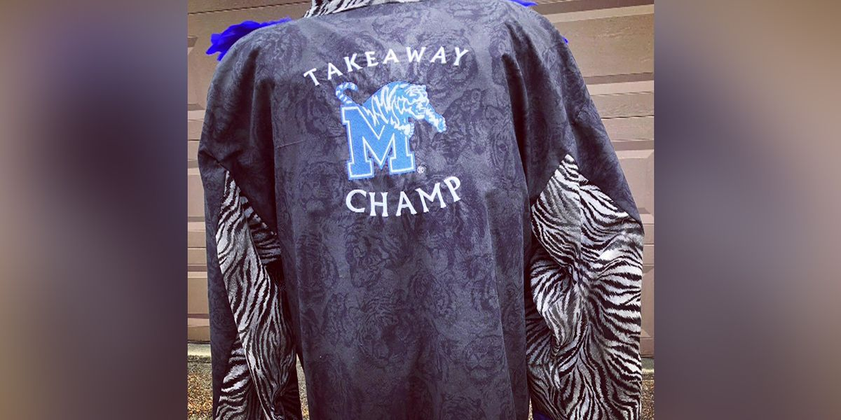 Tigers channel Ric Flair with Turnover Robe