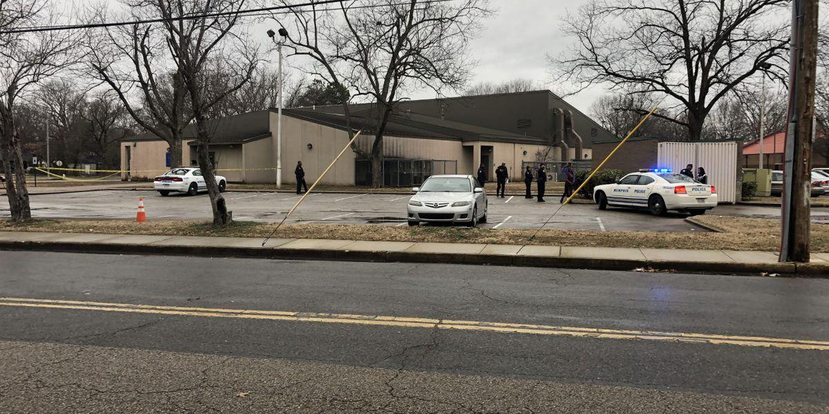 1 injured in shooting near community center