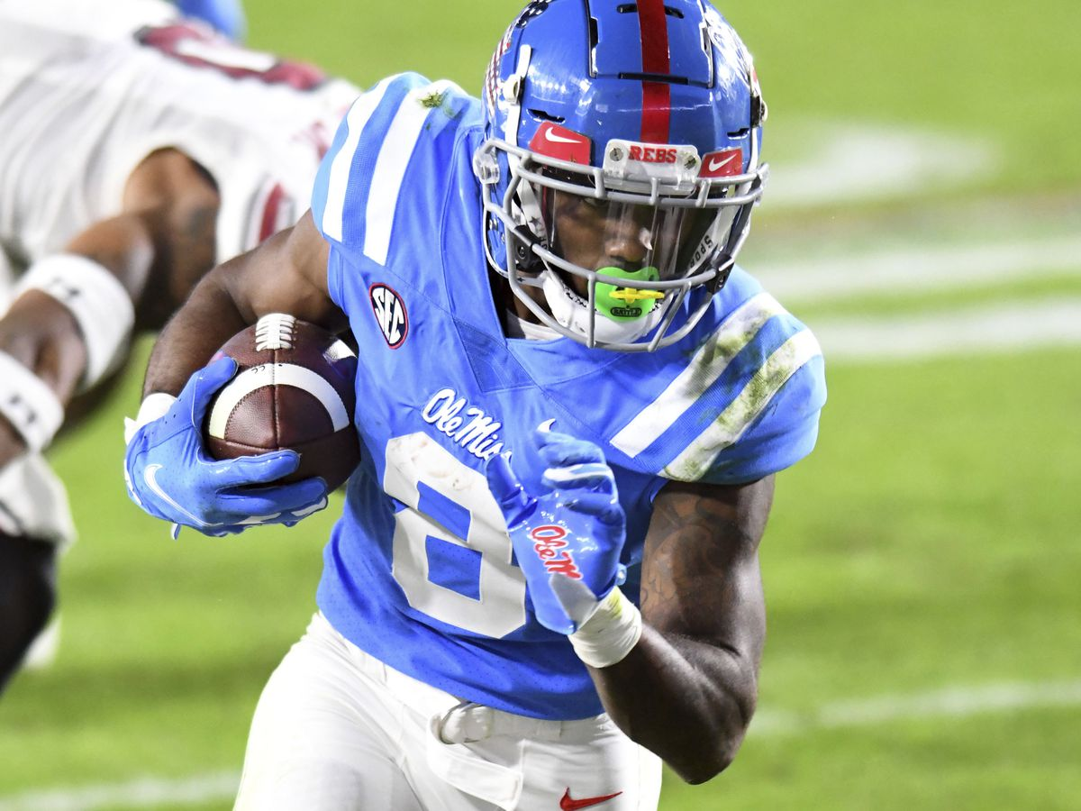 Star Ole Miss wideout declares for NFL Draft