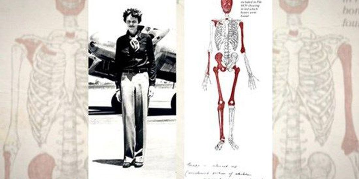 Bones found likely belong to Amelia Earhart, UT anthropologist says