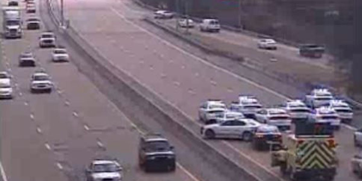 Double shooting shut down part of I-40