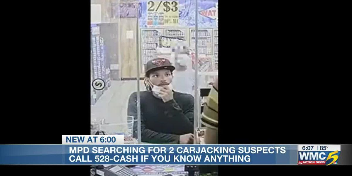 Memphis police searching for suspects who carjacked man at gas station